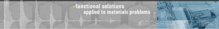 Functional Solutions applied to materials problems